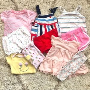 Baby Girl 3-6 month Two Piece Set Bundle